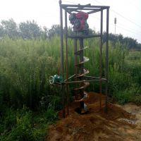 葡萄园埋水泥杆子用钻眼机厂家 慧聪机械批发 铁路护栏刨坑机1