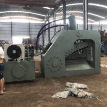 龙门虎头剪供应厂家500吨液压废铁剪工作效率钢筋工字钢自动剪切视频