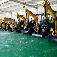 挖掘机可以安装破碎锤 履带先导系统微挖机 小型挖土机 反铲式果园小沟机