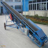 山东勒克斯皮带输送设备移动皮带输送机种类装卸车输送机