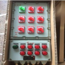 现场粉尘电机防爆机旁操作箱