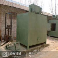 木炭加工无烟成套设备 小型干馏吊装方型炉 润合节能生产