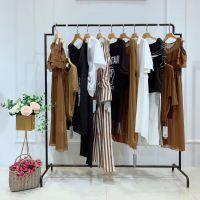 百笛女装衣服尾货哪里进货渠道福州品牌女装有什么牌子淑女绸缎半身裙