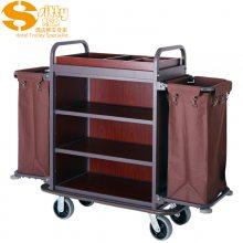 专业生产SITTY斯迪99.9803金属木结构拆装式客房服务车/房口车/房间清洁车