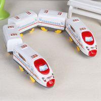 超长电动火车和谐列车5节车厢儿童电动火车模型玩具厂家直销