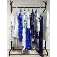 马天奴女装曼天雨品牌折扣服装2019北京服装尾货市场民族真丝休闲裤
