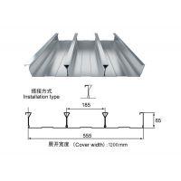 亳州闭口楼承板YX65-185-555型镀锌钢承板生产厂家