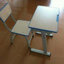 佛山市港文家具学生学习桌椅生产价格合理学生升降课桌椅