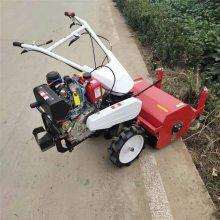 亚博国际真实吗机械 柴油微型碎草机 果园专用碎草还田机 秸秆还田机手推式柴油除草机