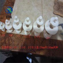 三溅式花篮喷头厂家 外螺纹链接河北祥庆工程塑料