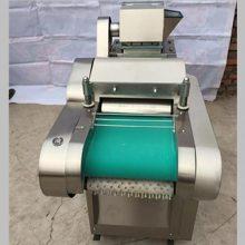 大型多功能蔬菜切菜机 豆腐泡加工切块机 韭菜豆腐皮切菜机