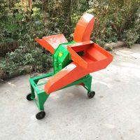 牛羊青饲料干秸秆铡草机 家用小型铡草机粉碎机