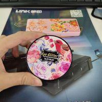 广州化妆盒浮雕彩印机厂家 高档包装盒万能打印机价格