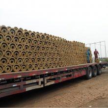 岩棉管 管道用保温管 耐高温蒸汽 防火防潮 致密隔热 岩棉保温管壳