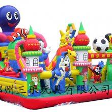 广东深圳新款式豪华内置儿童充气城堡厂家新制作热款