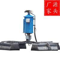 化肥厂污水机械蒸发器 蒸发塘漂浮式喷洒设备