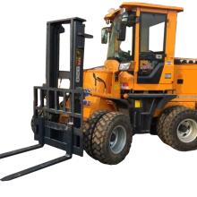 四驱叉车改装铲车|四驱越野叉车图片|越野叉车带吊臂