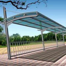 膜结构汽车车棚厂-膜结构-创锦帆装饰膜结构