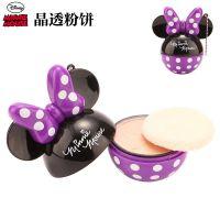 迪士尼儿童化妆粉饼***过家家玩具女孩演出化妆品米妮女孩彩妆