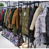 广州哪里有10-30元棉衣批发中长款羽绒服库存尾货棉服清货便宜处理