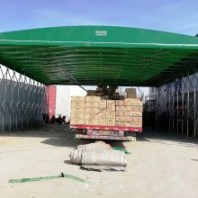 江西销售大型移动推拉帐篷 活动收缩折叠式雨棚 伸缩遮阳蓬 四季直销