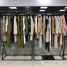 阿莱贝琳一线上海时尚品牌折扣加盟代理商尾女装大码连衣裙一手货源走份批发
