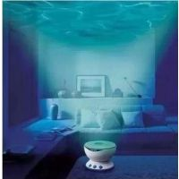 led小夜灯海浪投影仪 海洋投影灯 海浪达人 极光版星空带音响功能