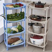三层经济型迷你置物架厨房免打孔小型 碗架个分层多用货物多层