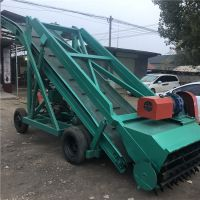 润众机械专业制造移动取料机 4米青储取草机 青草窖取料机