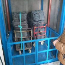 枣庄天盛国际娱乐APP注册牌货梯优质生产商 仓库厂房升降机 载货升降平台 咨询电话