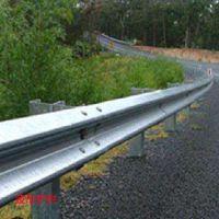 供应省道边坡公路波形护栏 Q235镀锌浸塑喷塑处理 防腐防锈 定做直销