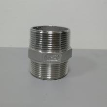 不锈钢丝扣内接头 304铸件双头内接 304不锈钢内螺纹内接