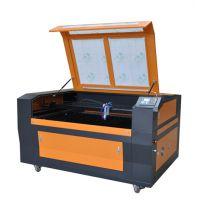 布料皮革座套切割机数控激光济南易雕激光切割设备厂YK1610