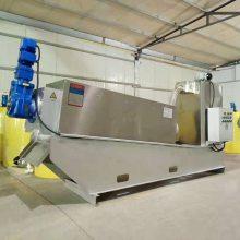 污水处理设备价格 叠螺式污泥浓缩脱水一体机