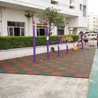 加厚室外橡胶地垫 幼儿园肯德基健身房儿童乐园游乐场舞蹈塑胶地板颗粒防滑地板