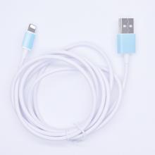 仿原装苹果数据线适用iPhone6/6s/7苹果手机数据线 快充白色1米线