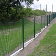 学校公园绿化围栏网 美观大气 喷塑铁丝网护栏