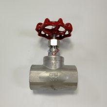 SUS304螺纹截止阀 不锈钢DN40螺纹阀门 1.5寸内螺纹截止阀
