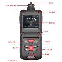 TD500-SH-R134a防爆型便攜式四氟乙烷檢測報警儀mg/m3顯示