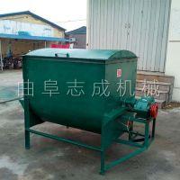 卧式螺旋式饲料混合机 多功能饲料搅拌机生产厂家 养殖场干湿饲料混合机