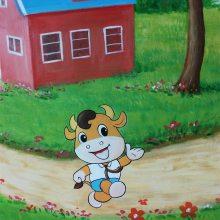 家居儿童房墙绘JJQH-0001-深圳彩圆壁画免费设计服务