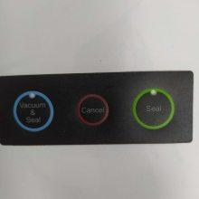 正峰正美印刷厂低价销售PET丝网印刷彩色薄膜控制开关面板