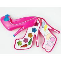 高跟鞋化妆盒儿童仿真化妆玩具套装女孩饰品过家家玩具系列79666