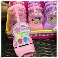 新款创意公主彩妆旅行箱女孩过家家玩具儿童口红化妆卡通兔子拉杆