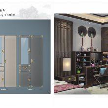 全屋定制新中式板式家具图册印刷 现代轻奢板式衣柜画册设计印刷