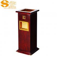 专业生产SITTY斯迪95.1034D木质垃圾桶/大堂垃圾桶