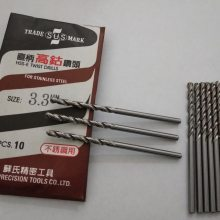 SUS苏氏 高钴不锈钢专用麻花钻头 CNC 数控刀具