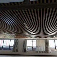 木纹铝方通天花吊顶厂家直销 铝方通规格齐全