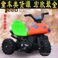 厂家直销九灯甲壳虫儿童电动三轮车儿童电动摩托车儿童电瓶车