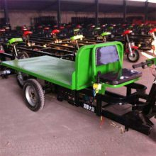 中小型运输车规格齐全 建筑工程运货平板车 手推式三轮运输车